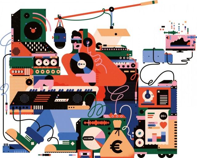 Resultado de imagen de music industry