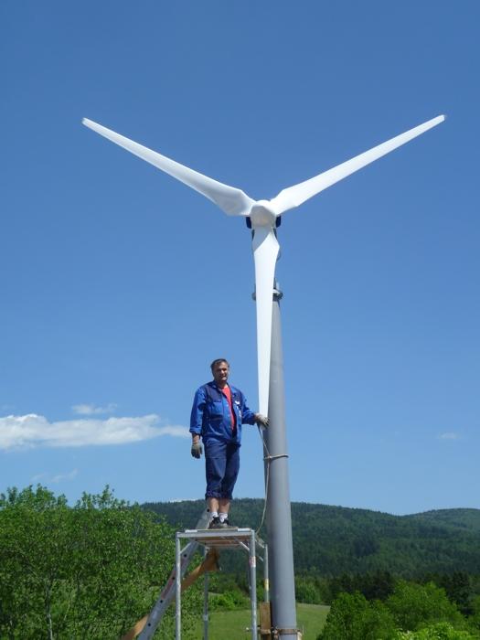 Beispiel ANTARIS 6.0kW mit 5.10m Repeller