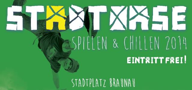 """Festival """"Stadtoase"""" – Spielen & Chillen – Samstag, 20. September auf dem Stadtplatz"""