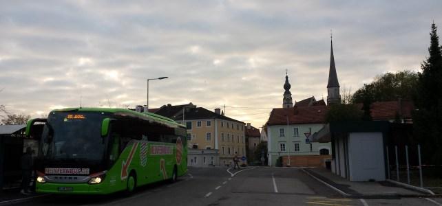 Fernbus fährt Braunau und Simbach im Mai nicht an, aber …