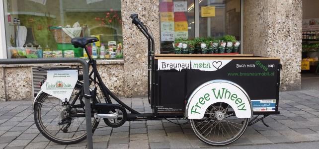 GRATIS Lasten-E-Bike steht wieder bei Zagler's Naturladen!