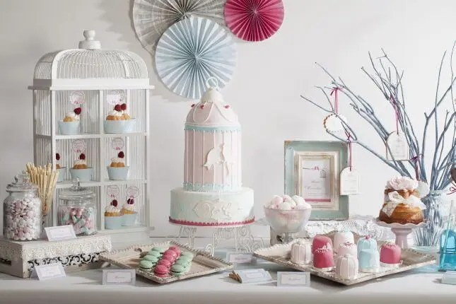 Inspiration Hochzeit Candybar 129_v Candybar vintage links