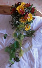 Real Wedding Brautstraeusse  Heiraten mit brautde