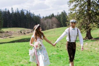 Styled Shoot- wild-romantische Almhochzeit_Natascha Grunert - 8