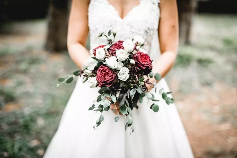 Brautstrau im VintageStil  Heiraten mit brautde