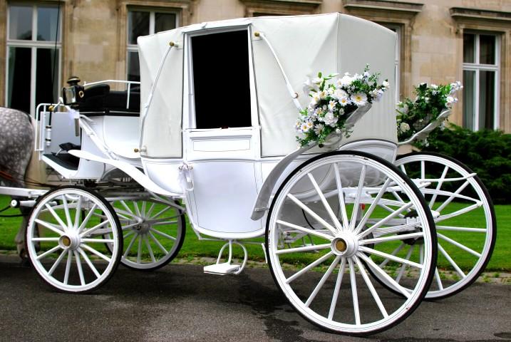 Hochzeitskutsche Romantischer Traum  brautorg