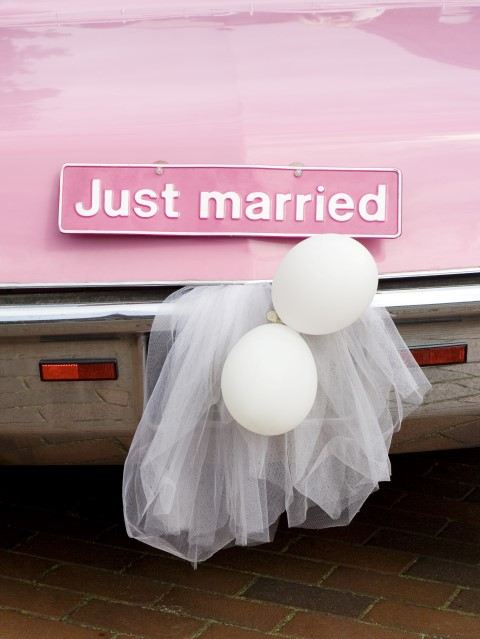 Luftballons zur Hochzeit  alles andere als heie Luft