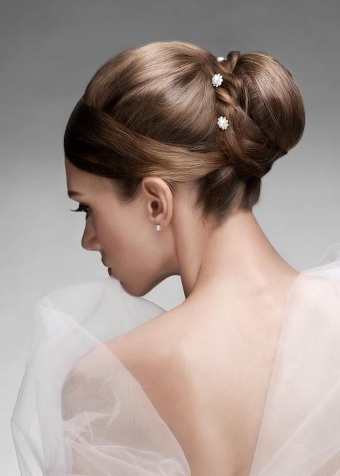 Brautfrisur Klassisch