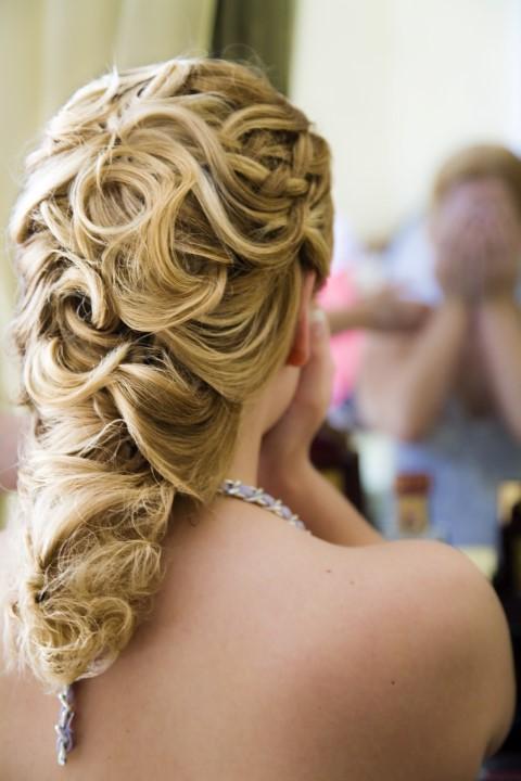 Hochzeitsfrisuren fr jede Gesichtsform Oval rund eckig oder herzfrmig  brautorg