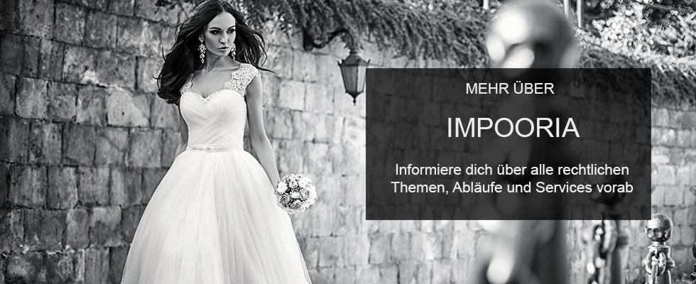 Brautkleider Online IMPOORIA Rückgaberecht IMPOORIA