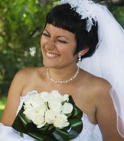 Brautfrisur kurz  Kurzhaarfrisuren