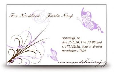 Schne Einladungskarte