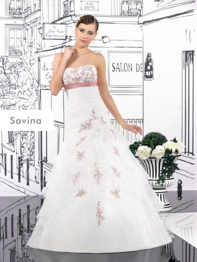Modell Savina  Brautstudio Anke Tworuschka