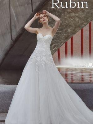 Hochzeitskleid Rubin
