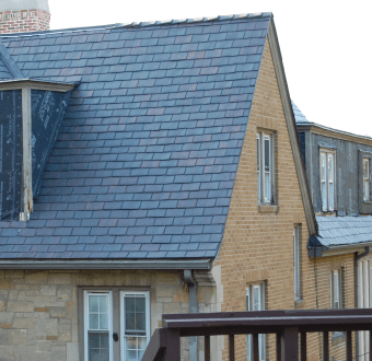 synthetic select slate roofing