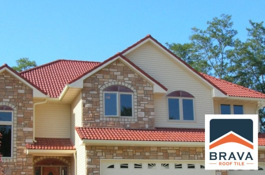 brava composite spanish roof tile
