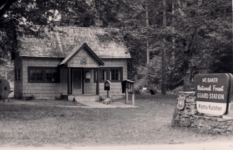 Thumbnail for Historic Roof Replacement at Koma Kulshan Ranger Station in Washington State.