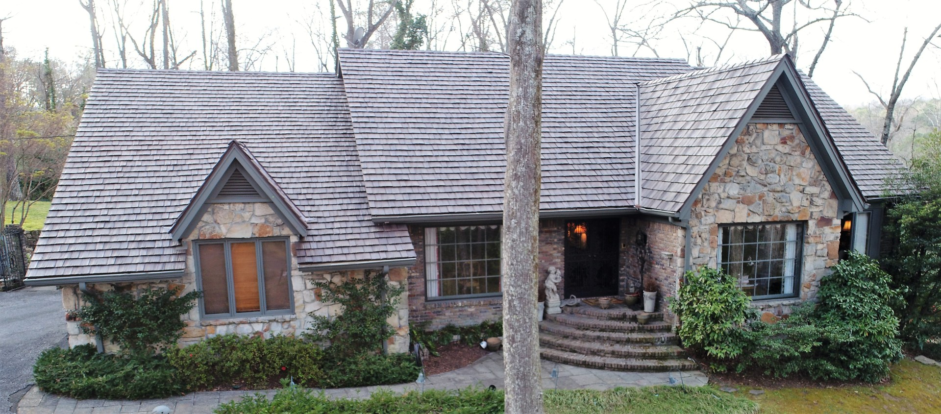 Thumbnail for Cedar Shake Roof Replacement, Mountain Brook, Alabama