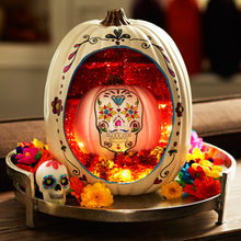 day_of_the_dead_pumpkin_altar