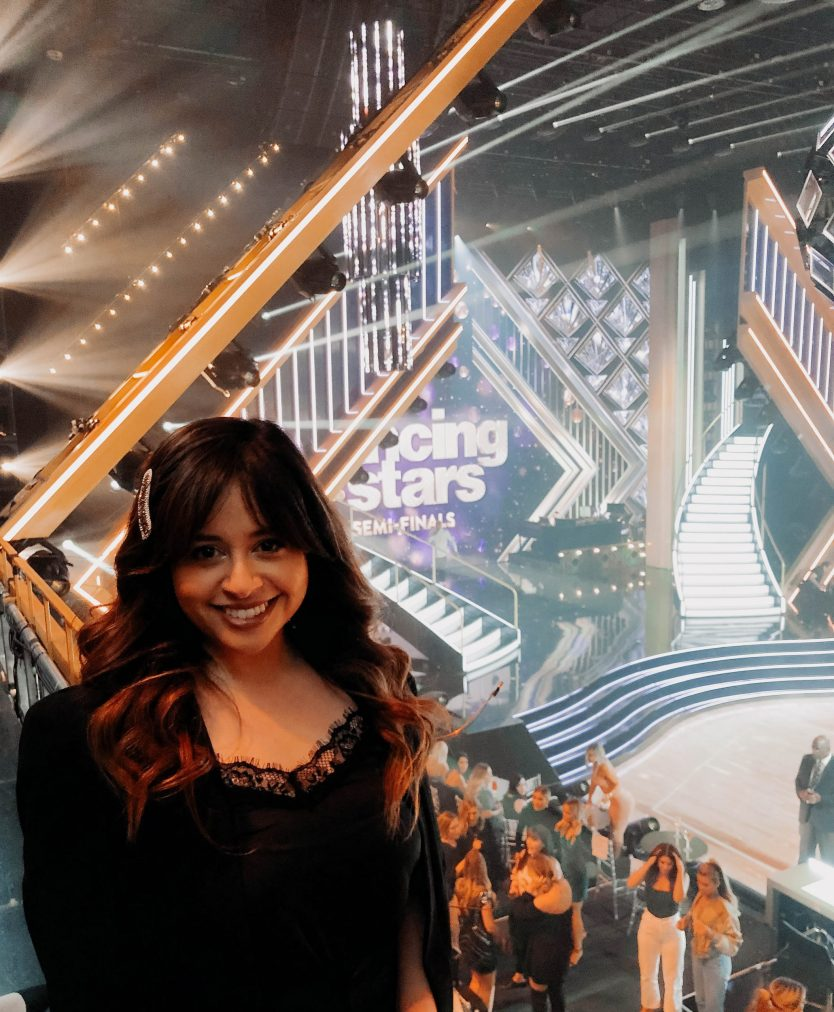 I Attended the DWTS Semi-Finals and was on TV! (Video)