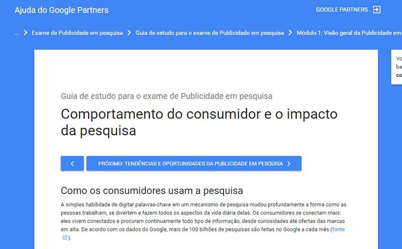 Curso de Marketing Digital Publicidade de Pesquisa