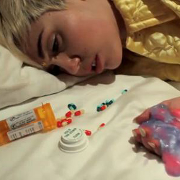 Miley Cyrus krasses DrogenVideo  BRAVO