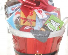 custom christmas gift basket