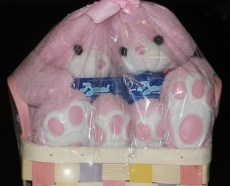easter themed gift basket
