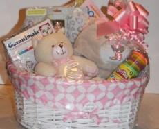 new baby gift basket
