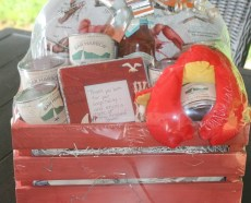 custom new england lobster gift basket