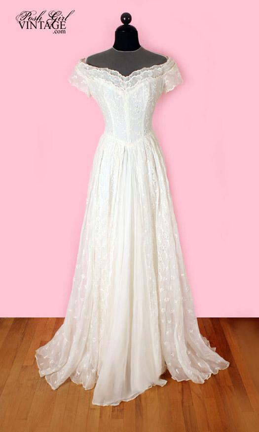 10 Vintage Wedding Dresses We Love  BravoBride