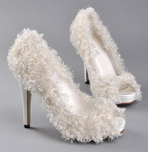 Wedding Shoes Like Youve Never Seen Before BravoBride