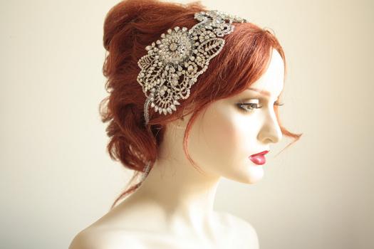 6 Unique Wedding Headbands Amp Tiaras BravoBride