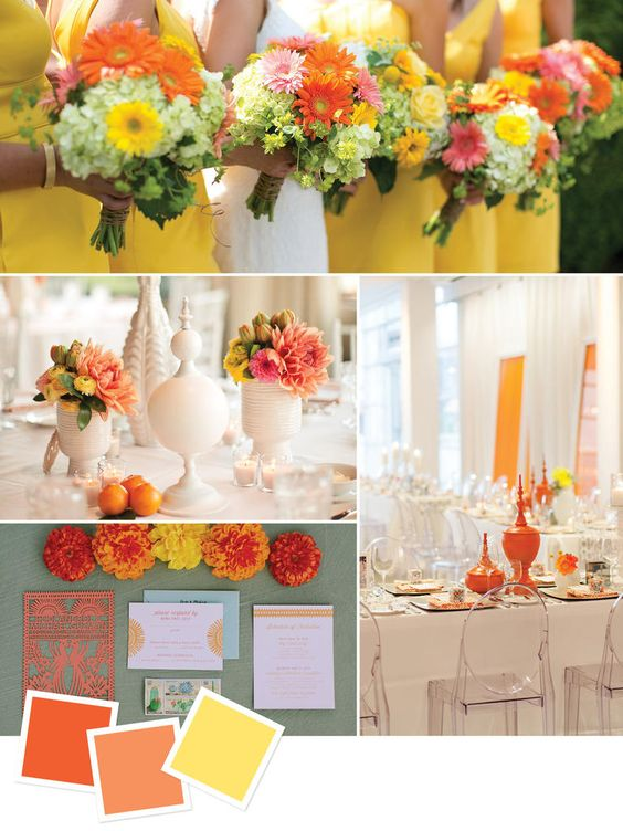 Beautiful Summer Wedding Colors BravoBride