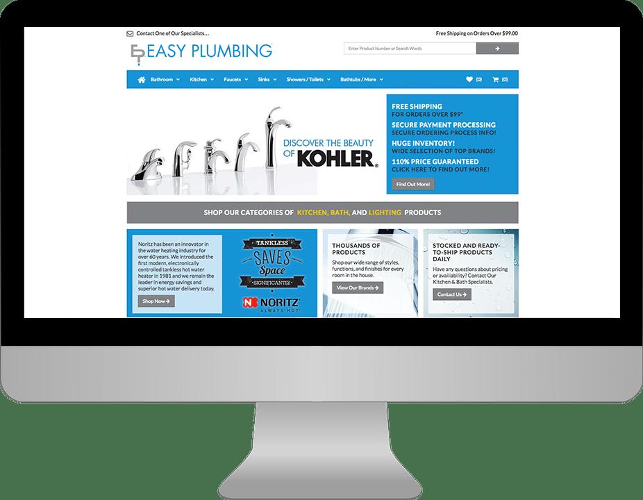 My Plumbing Showroom E-Commerce Website