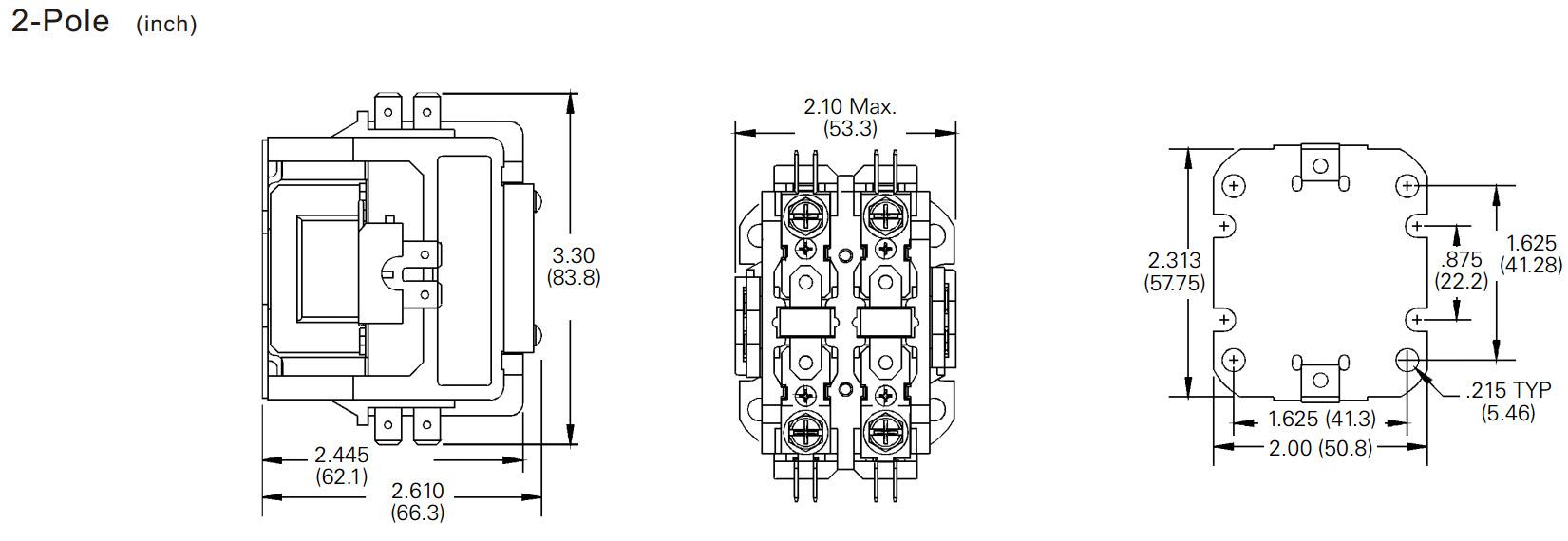 Eaton 2 pole 20 amp contactor pdf