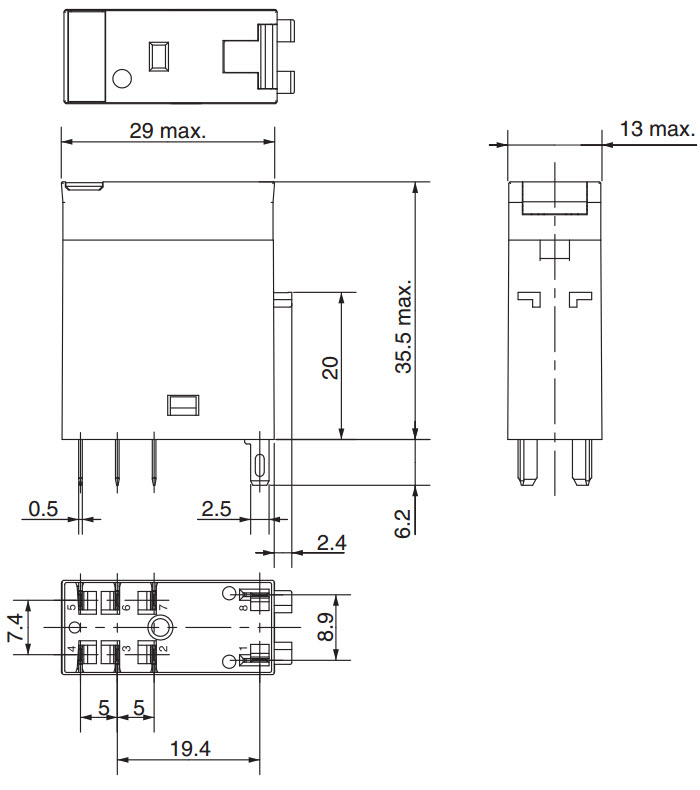 2 pin led flasher relay wiring diagram 2000 jeep wrangler ignition omron my2n 24vdc : 37 images - diagrams | gsmportal.co