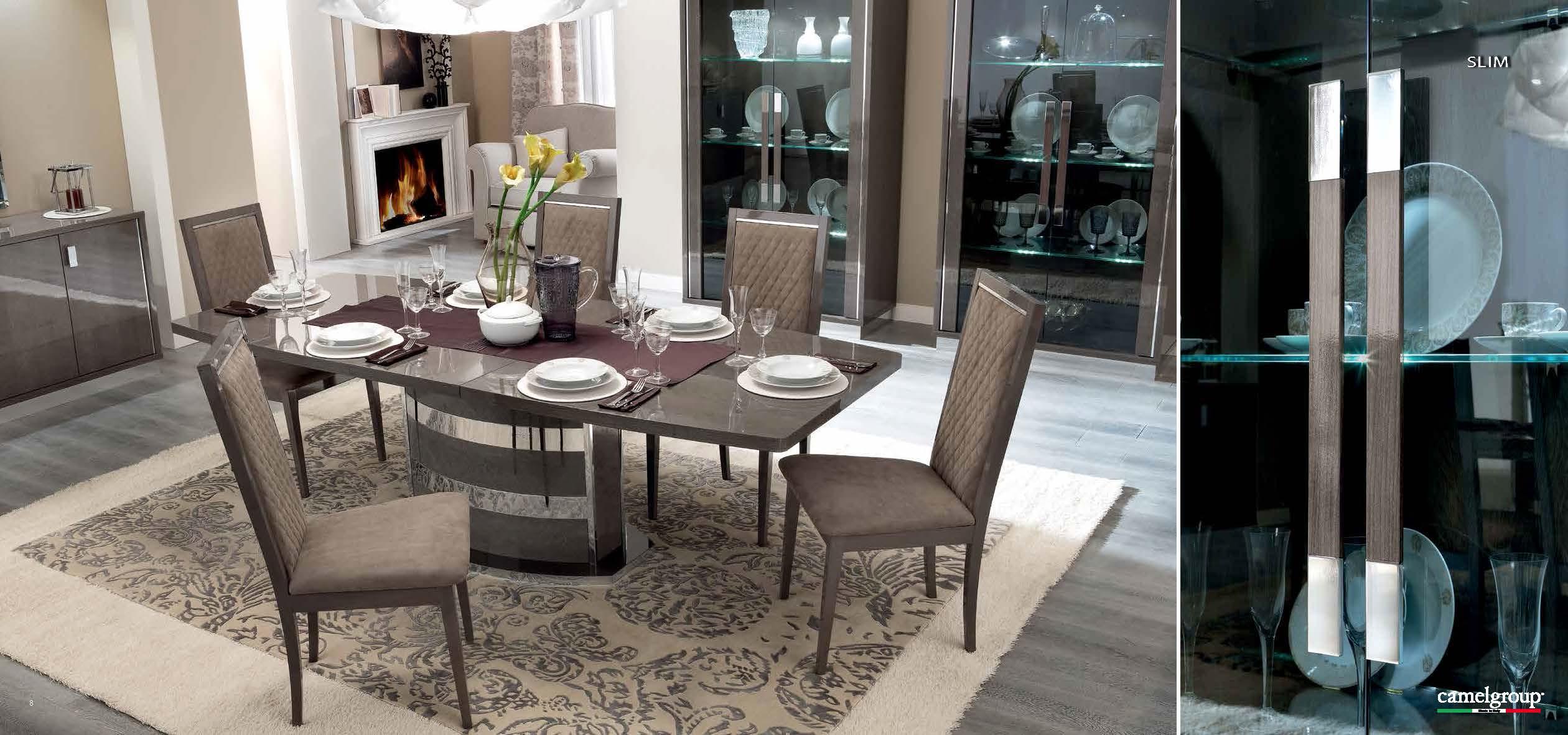 Platinum Slim Dining Modern Dining Room Sets Dining Room