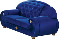 Giza Fabric in Dark Blue, Sofas Loveseats and Chairs ...