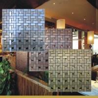 Peel and stick mosaic tiles diamond glass tile backsplash