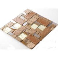 Porcelain Mosaic decorative Tile Glass Backsplash kitchen ...