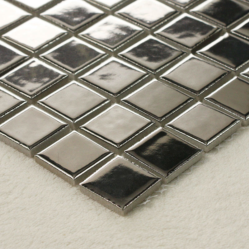 Mosaic Square Mirror Tiles