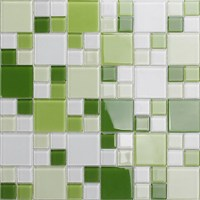 green glass mosaic window countertop crystal glass tile ...