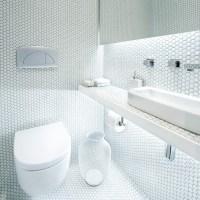 small hexagon porcelain tile white shiny porcelain tile ...