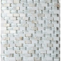 Mother Of Pearl Glass Mosaic Tile   Tile Design Ideas