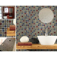 Porcelain mosaic tile sheets kitchen backsplash tiles ...
