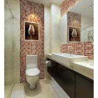 Crystal Glass Mosaic Tile Sheet Wall Stickers Kitchen ...