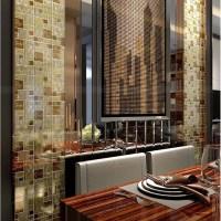 Metallic Mosaic Tile Backsplash ideas yellow HC-141 ...