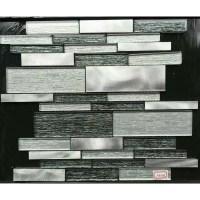 Aluminum Glass Tiles For Kitchen Backsplash Stainless ...