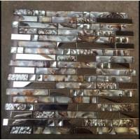 Diamond Glass Tiles For Kitchen Backsplash Silver ...